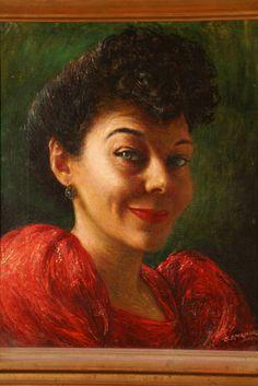 Gladys Rockmore Davis (Noel Rockmore's mother), self-portrait