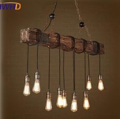 Item Type: Pendant Lights Certification: UL,CQC,CE,FCC,GS,EMC,LVD,CCC Technics: Painted Power Source: AC Body Material: Iron,Wood Base Type: E27 Place: Study,Parlor,Hotel Hall,Hotel Room,Master Bedroom,other bedrooms Material: Bamboo & Wooden Warranty: 3 year Installation Type: Chain Pendant Light Source: LED Bulbs Is Bulbs Included: Yes Lampshade Color: White Number of light sources: 10 Application: Dining Room Voltage: 90-260V Style: Vintage Model Number: M155 Lighting Area: 15-30square…