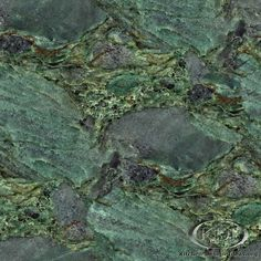 green granite countertops | Emerald Green Granite - Kitchen Countertop Ideas