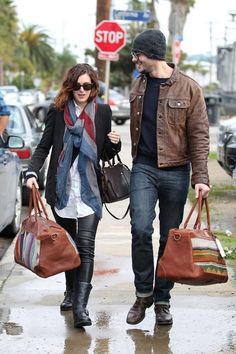 Rumer Willis and Jayson Blair - Will Leather Goods