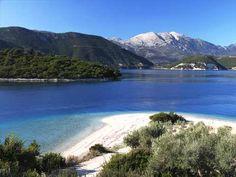 Stravnam beach near Agios Ioannis Meganisi