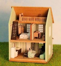 Miniature 1/144th scale Cottage with Loft | Flickr - Photo Sharing!