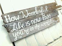 How wonderful