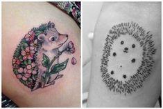 Tenerissimi tatuaggi con ricci e porcospini: idee e significato 22