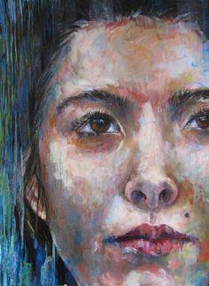 "Saatchi Online Artist: Jessica Russo Scherr; Acrylic, 2012, Painting ""Bianca"""