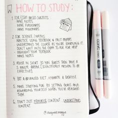 A lot of you have been asking how I study and also what grades I've been getting. So here goes!  I've listed some general points which I'm going to expand on in a series of 'How to Study' master posts.  I'm studying in the UK and achieved 12A2A at GCSE. At AS I achieved 5As and am currently aiming for 4As. I'm studying Maths Further Maths Chemistry & Economics!  My techniques definitely aren't going to work for everyone but I hope my next few posts will help you find the right one for you :)…