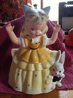 Napco 1956 Alice in Wonderland planter (12/17/2013)