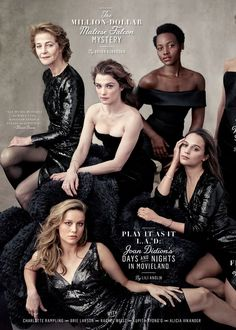 'Vanity Fair' dropped its 2016 Hollywood issue cover featuring Jennifer Lawrence, Jane Fonda, Viola Davis and many more — see the Annie Leibovitz–shot cover here Fashion Group, Foto Fashion, Fashion Shoot, Party Fashion, Group Photography, Photography Women, Portrait Photography, Fashion Photography, Photography Projects