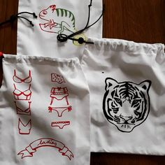 Pytliky na přání #pytlik #deti #tygr #chameleon #bagsforkids #bags #tiger #chameleon #sitotisk #print #printing My Arts, Instagram