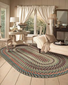 Home E Decor Braided Cotton And Wool Rugs Decorating Pinterest Rug Primitives