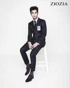 Kim Soo Hyun (김수현) for ZIOZIA (지오지아) 2012 F/W #18 #KimSooHyun #SooHyun #ZIOZIA