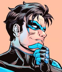 """nytewing: """"Dick Grayson in DC Rebirth Holiday Special #1 """""""