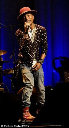 Pharrell Williams...