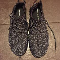 Adidas Yeezy Boost Women's size 8 Adidas sneakers - Yeezy Boosy - all black - womens size 8 - unauthentic - brand new never worn Adidas Shoes Sneakers