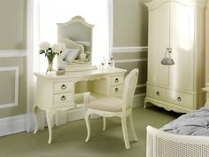 Home Discount Designer-Marken - Bis zu Rabatt - BrandAlley Dressing Table Dunelm, Dressing Table With Chair, Dressing Table Mirror, Dressing Tables, Dressing Room, French Furniture, Home Furniture, Painted Furniture, Bedroom Furniture