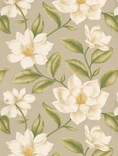 Sanderson's Grandiflora is taken from the A Painter's Garden wallpaper collection and is in stock and available for purchase.