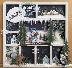 Flower Shadow Box, Shadow Box Art, 3d Cards, Xmas Cards, Christmas Horses, Christmas Crafts, Aliexpress Dies Cards, Wedding Wall, Marianne Design