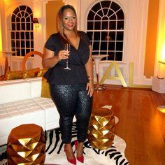 Plus Size Fashion - http://www.trendycurvy.com - mskristine's photo on Instagram
