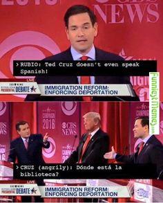 Funny Memes - [Ted Cruz Doesn't Even Speak Spanish...]