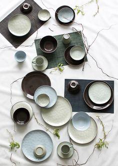 Servies salt & pepper via Bohemian Living, Salt And Pepper, Artisan, Pottery, Plates, Tableware, Gifts, Placemats, Bastille