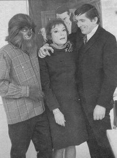 Grayson Hall, Jonathan Frid, and Alex Stevens as the Werewolf