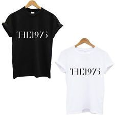 The 1975 Hipster Women Sexy t shirt Summer Style Casual t-shirt Sport tops tee