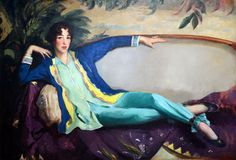 Robert Henri,  Gertrude Vanderbilt Whitney - 1916