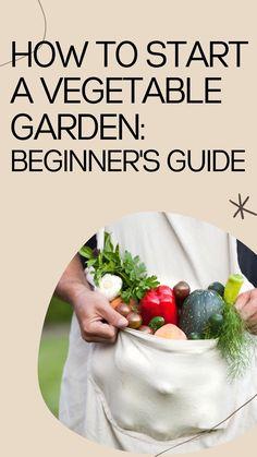Planting Vegetables, Growing Vegetables, Veggies, Starting A Vegetable Garden, Backyard Vegetable Gardens, Backyard Farmer, Gardening For Beginners, Gardening Tips, Kitchen Gardening