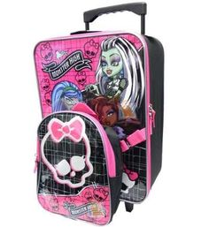 Monsters High School Children Backpack