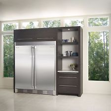 electrolux icon stainless built in all u0026 all freezer with trim kit