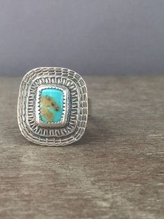 Turquoise ring, by Prox