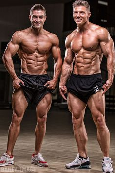 Great physiques! Ryan Terry and Steve Cook by Christopher Bailey (2014)