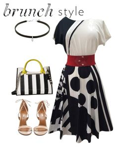 """""""Dress"""" by masayuki4499 ❤ liked on Polyvore featuring Steve Madden and Aquazzura"""