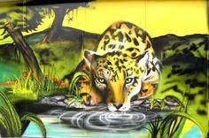 Graffiti in the Cambuci Neighborhood in the city of Sao Paulo. #graffiti #streetart #psyche
