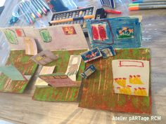 Inspiration Vincent Van Gogh, 3D painting Van Gogh's room, 5 years old, Atelier pARTage RCM