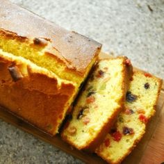 Classic fruit cake, so rich, buttery and sweet, just yummy!