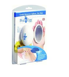 It's the newest and fastest way to make your feet feel smooth and healthy with NO MESS! The secret is PedEgg's precision micro-files that gently remove calluses and dead skin to give your feet the incredible baby soft look and feel that everybody loves. Foot Pedicure, Pedicure Kit, Best Whitening Toothpaste, Callus Shaver, Stocking Stuffers For Adults, Dry Skin On Feet, Pedi Perfect, Smooth Feet, Cracked Feet