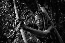 Mitchell Kanashkevich. Tribal archer, Alor Island, Indonesia, 2008