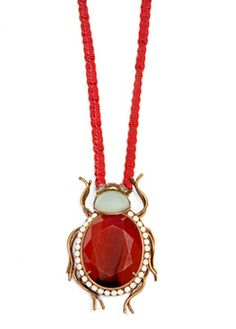 TOUCH - Beetle necklace