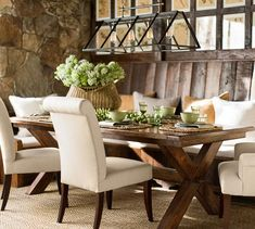 Toscana Extending Rectangular Dining Table | Pottery Barn. I have the chairs. Now I need the table.