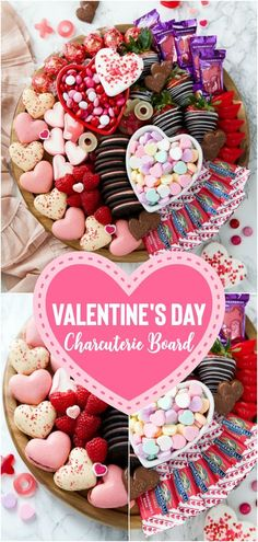 Valentine's Day Dessert Board How to make a Valentine's Day charcuterie board – this easy to assemble dessert board is filled with heart-shaped macarons, candy, fresh fruit, and cookies. Low Carb Chocolate, Sugar Free Chocolate, Chocolate Peanut Butter, Valentine Desserts, Valentines Food, Valentine Party, Valentine Nails, Valentine Treats, Fall Desserts
