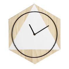 horloge-murale pin métal 30cm 14,99€