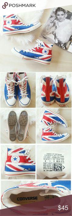 342febedf90cb Converse British High Top Show off your patriotism in these British high  top by Converse.