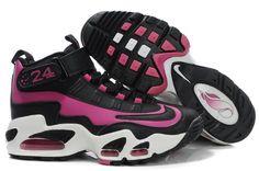 ca99f4a00d940f Women s Nike Ken Griffey Jr Shoes Black Pink Nike Leggings