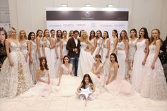 """New STYΛIANOS Haute Couture Bridal Collection 2017 """"Blooming Love""""."""