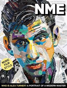 NME (UK)  Maybe looks good with green color segments.