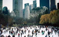 Ice skate in time square
