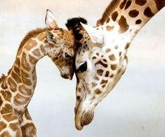 giraffe kid mother