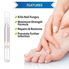 Product Details Be more confident in yourself and watch your nail fungus disappear when you use our NEW bio-pen! This NATURAL herbal remedy is everything you need to regain the shine and beauty… Best Toenail Fungus Treatment, Nail Treatment, Fingernail Fungus, Fungal Nail, Nail Conditions, Ingrown Toe Nail, Fungi, Health, Mushrooms