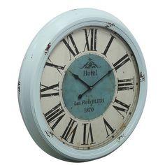 "One Allium Way® 24.5"" Jackson Distressed Wall Clock"